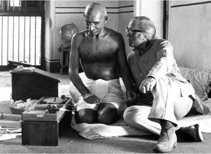 Richard Attenborough en Gandi