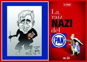 La raíz nazi del PAN, libro de Rafael Barajas, El Fisgón