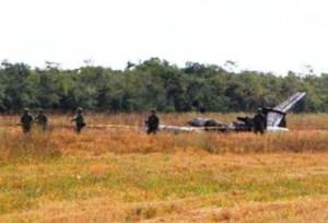 Mueren dos al desplomarse avioneta en Campeche