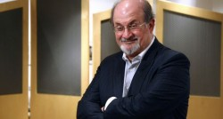 El escritor británico Salman Rushdie. Claudio Álvarez