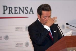 El vocero de la Presidencia, Eduardo Sánchez. Foto: Eduardo Miranda