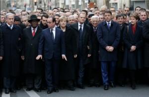 La mayor marcha en la historia de Francia, es contra el terror