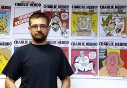 yihadistas atacan Charlie Hebdo. Director Charb