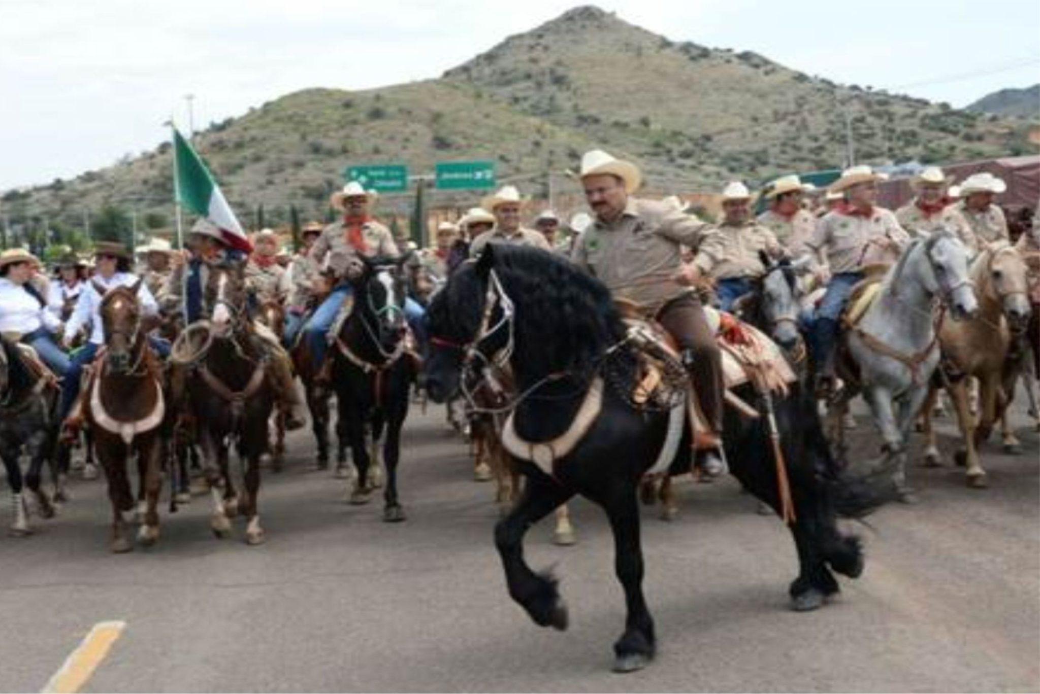 Entre ranchos y caballos