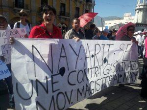 Marcha contra el mal gobierno