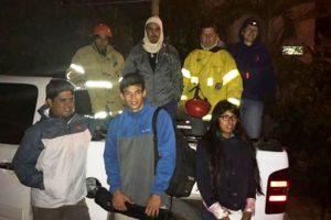 Rescatan a jóvenes perdidos en el San Juan